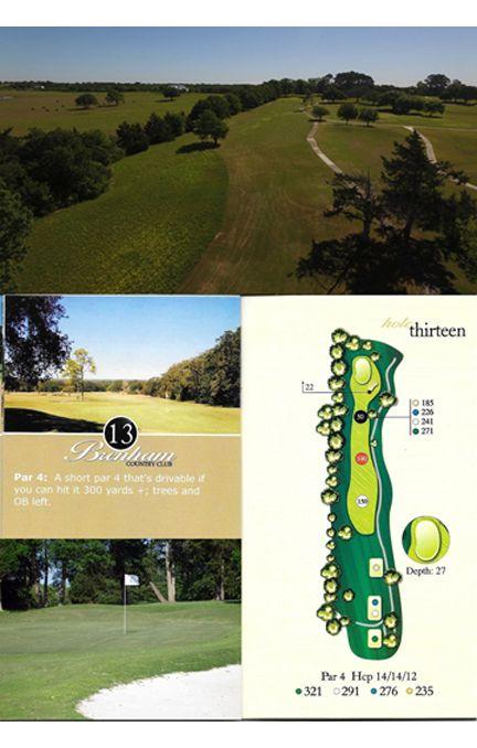 Course tour hole 13