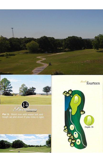 Course tour hole 14