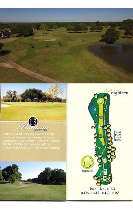 Course tour hole 18