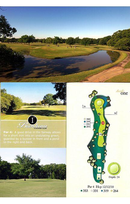 Course tour hole 1