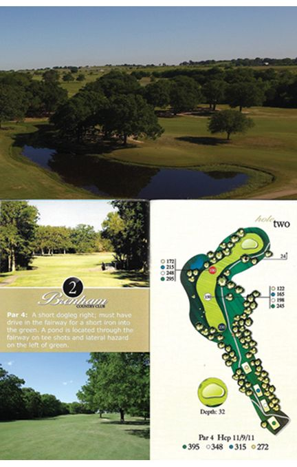 Course tour hole 2