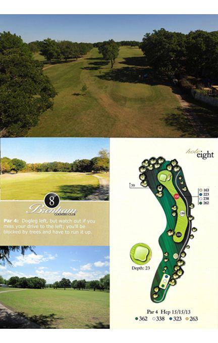 Course tour hole 8