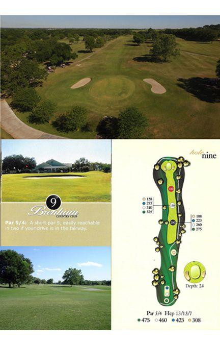 Course tour hole 9