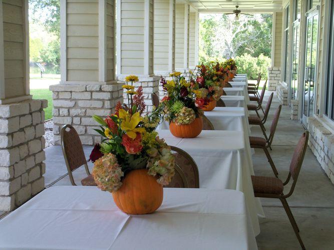 Outdoor wedding set up in East Texas